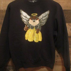Taz Angel Vintage 1990's Warner Bros. Sweatshirt L